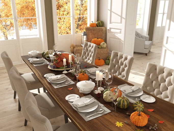 Pleasing Joanna Gaines Shares How She Sets Her Thanksgiving Table Download Free Architecture Designs Sospemadebymaigaardcom