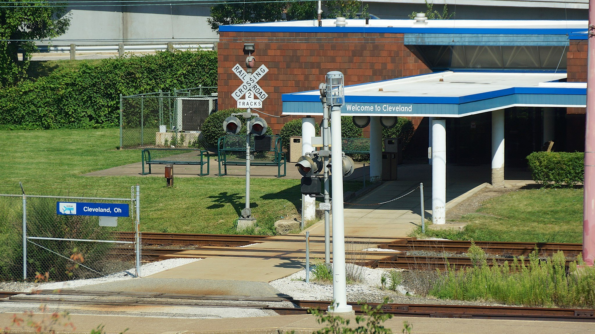 Ugliest train stations-Cleveland Lakefront station