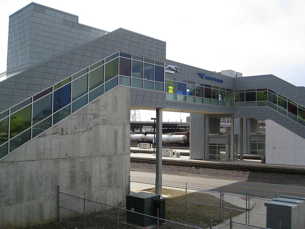 Ugliest train stations in America-Gateway Station St. Louis