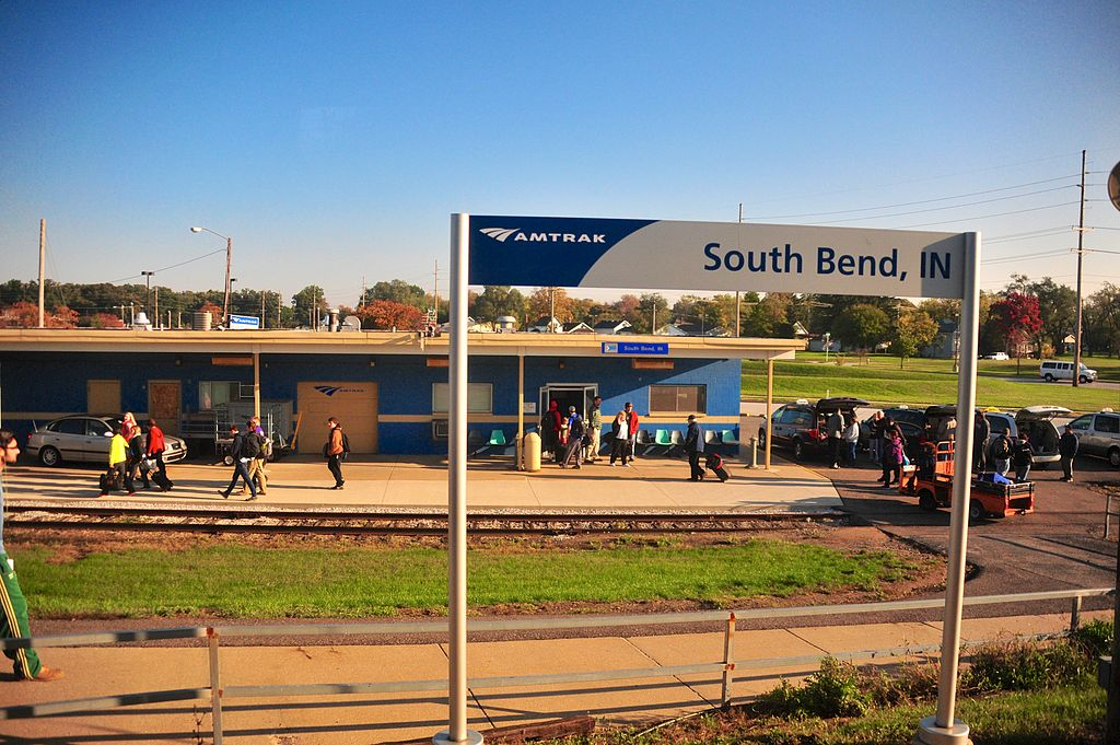 Ugliest train stations in America-South Bend IN