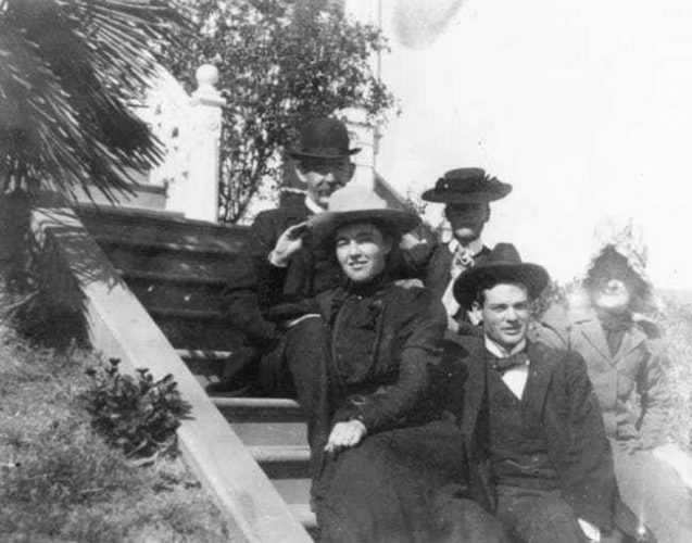 Herbert and Lou Hoover just after their wedding in 1899