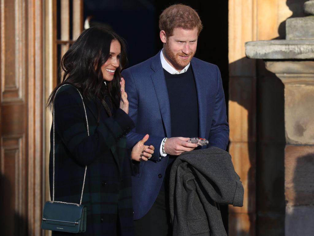 Prince Harry and Megan Mark visit Edinburgh
