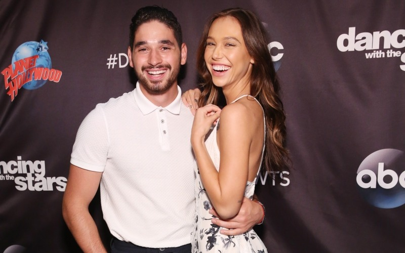 Alan Bersten and Alexis Ren