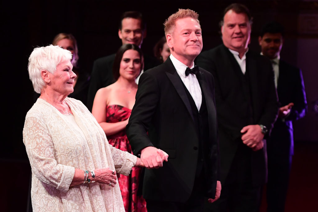 Judi Dench and Kennth Branagh are both involved in the Artemis Fowl movie.