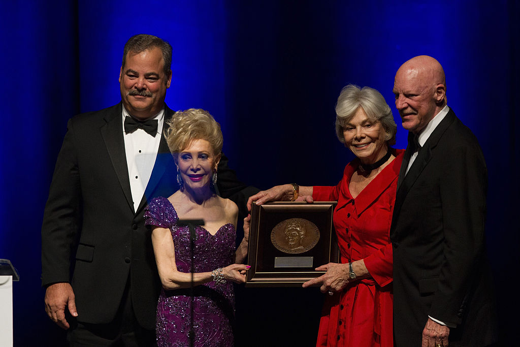 Cal McNair, philanthropist Margaret Alkek Williams, Janice McNair, Bob McNair