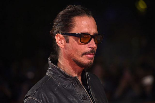 """Musician Chris Cornell attends the """"The Promise"""" premiere during the 2016 Toronto International Film Festival at Roy Thomson Hall on September 11, 2016 in Toronto, Canada"""