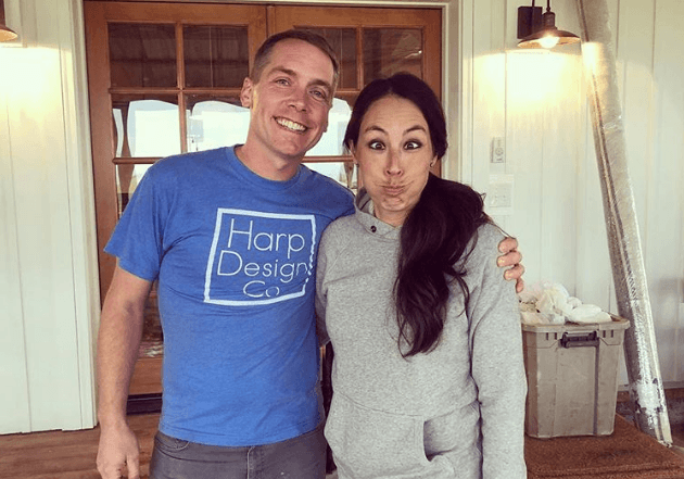 Clint Harp and Joanna Gaines