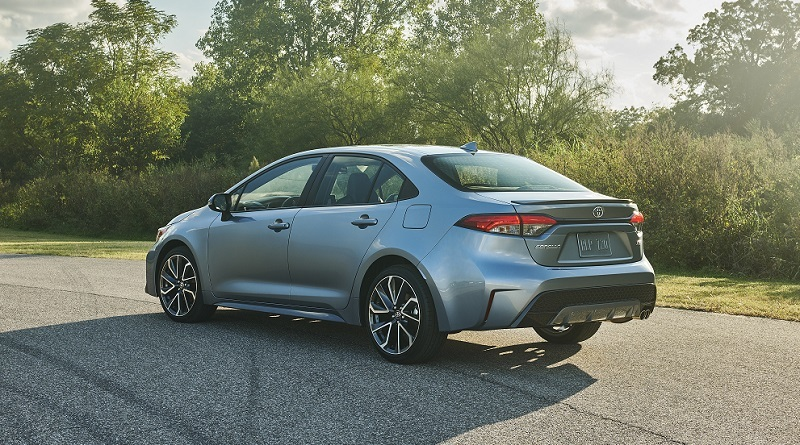 Toyota Corolla sedan gets a bold new look in its 12th generation