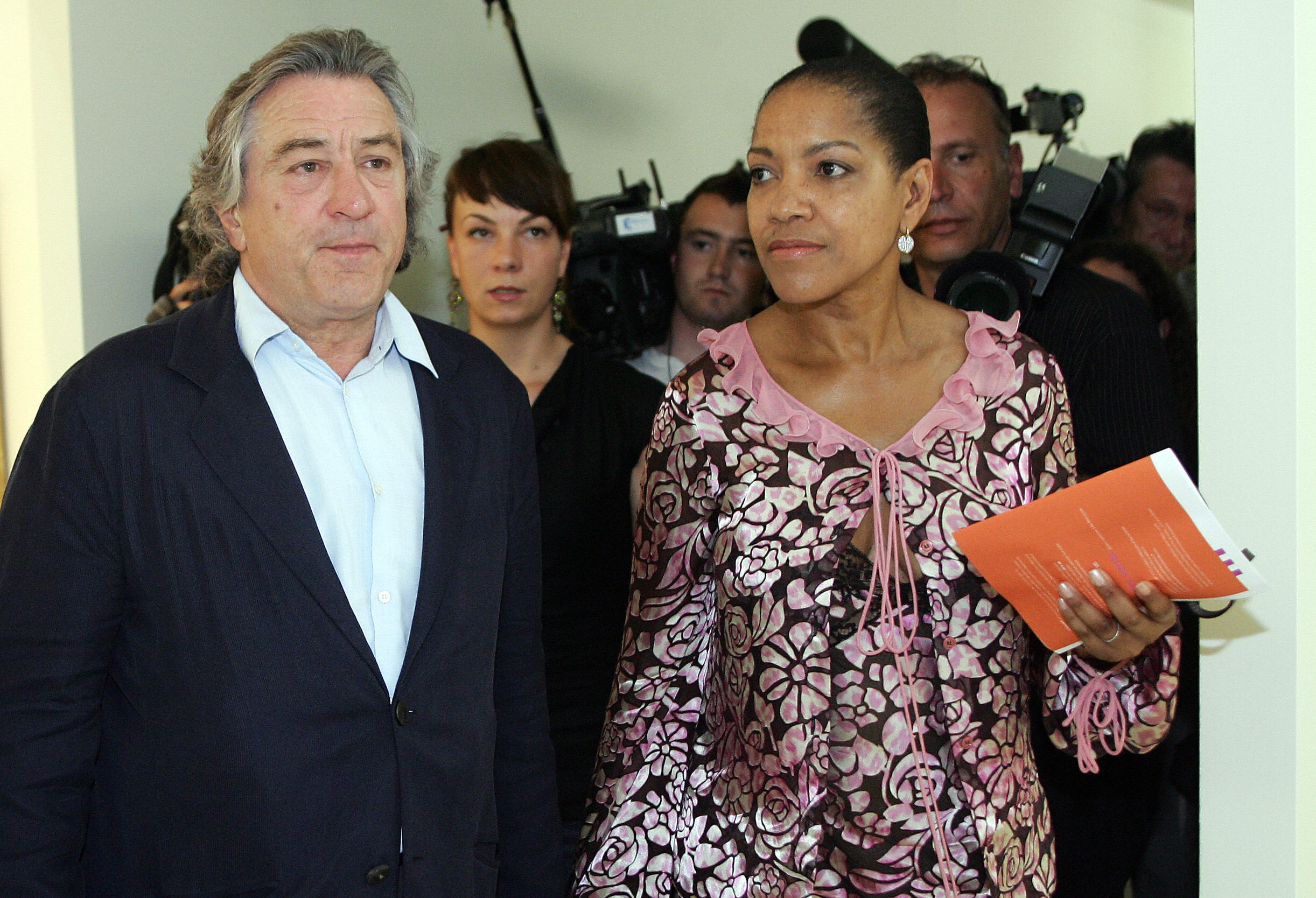 Robert De Niro and Grace Hightower in 2005.