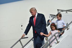 How Much Time Does President Donald Trump Spend With His Grandchildren?