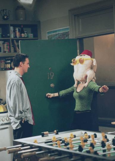 Friends turkey Monica