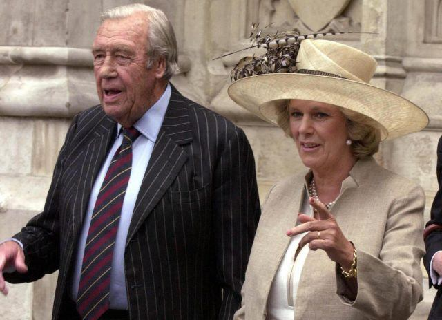 Camilla Parker Bowles and Bruce Shand
