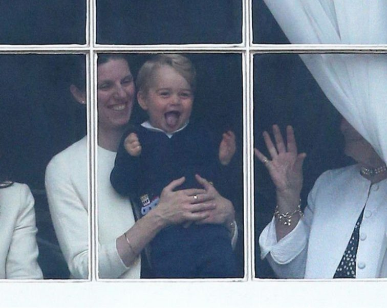 Royal nanny Maria Teresa Turrion Borrallo with Prince George