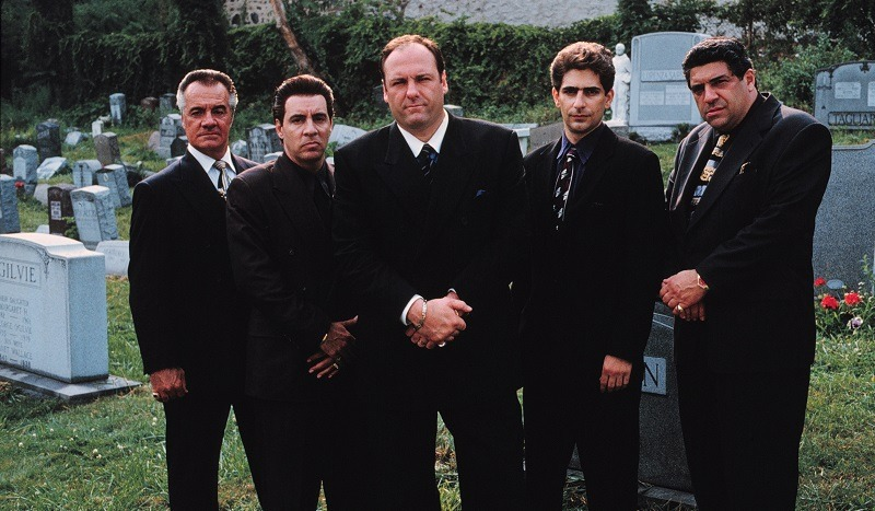 Exploring The Life Of A Modern-Day Mob Boss, The Exclusive New Series The Sopranos Combines Drama And Comic Irony, Debuting Hour-Long Episodes Sundays (9:00-10:00 P.M. Et) On Hbo. Pictured: Tony Sirico, Steve Van Zandt, James Gandolfini, Michael Imperioli And Vincent Pastore.