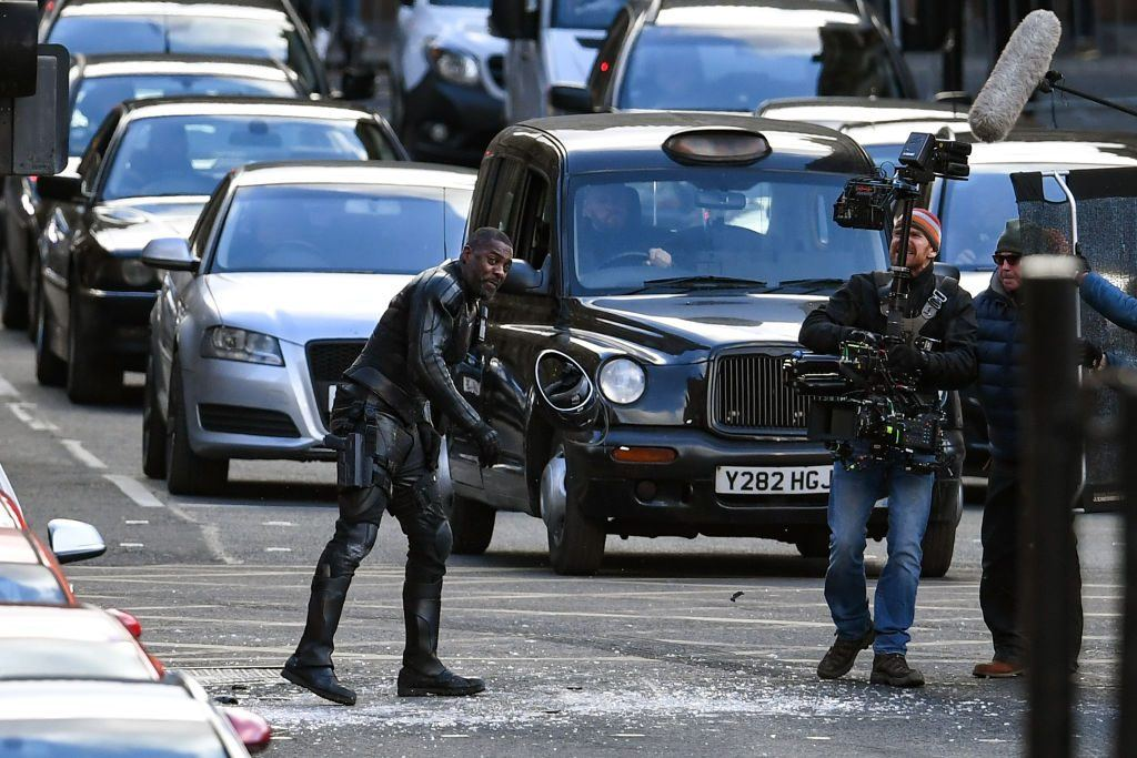 Idris Elba on 'Hobbs & Shaw' Set