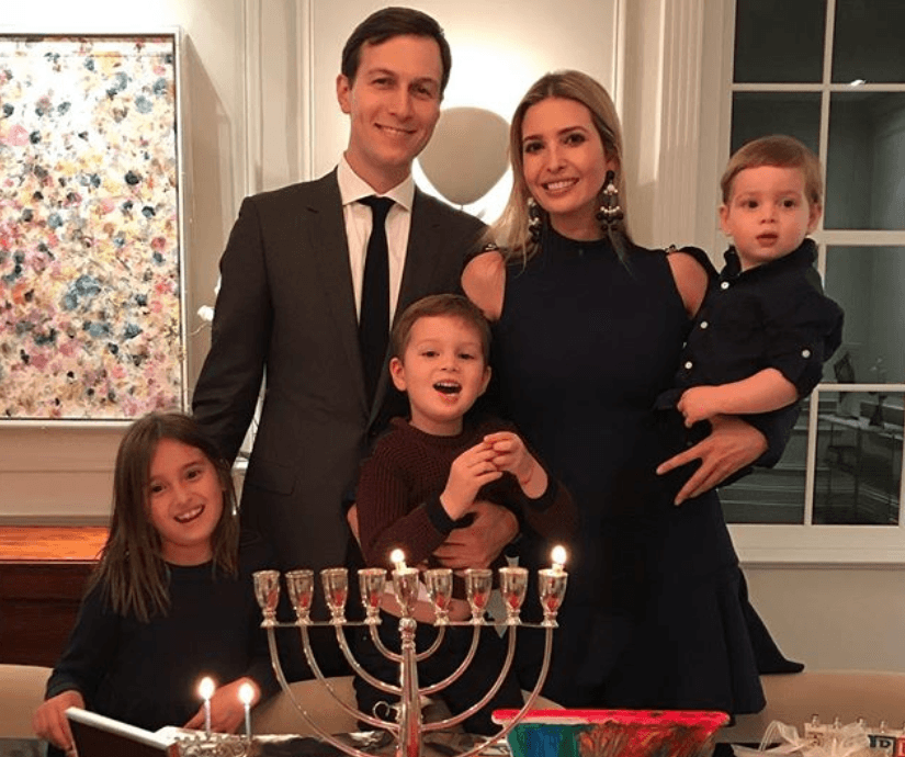 Holiday family time with Ivanka Trump and Jared Kushner