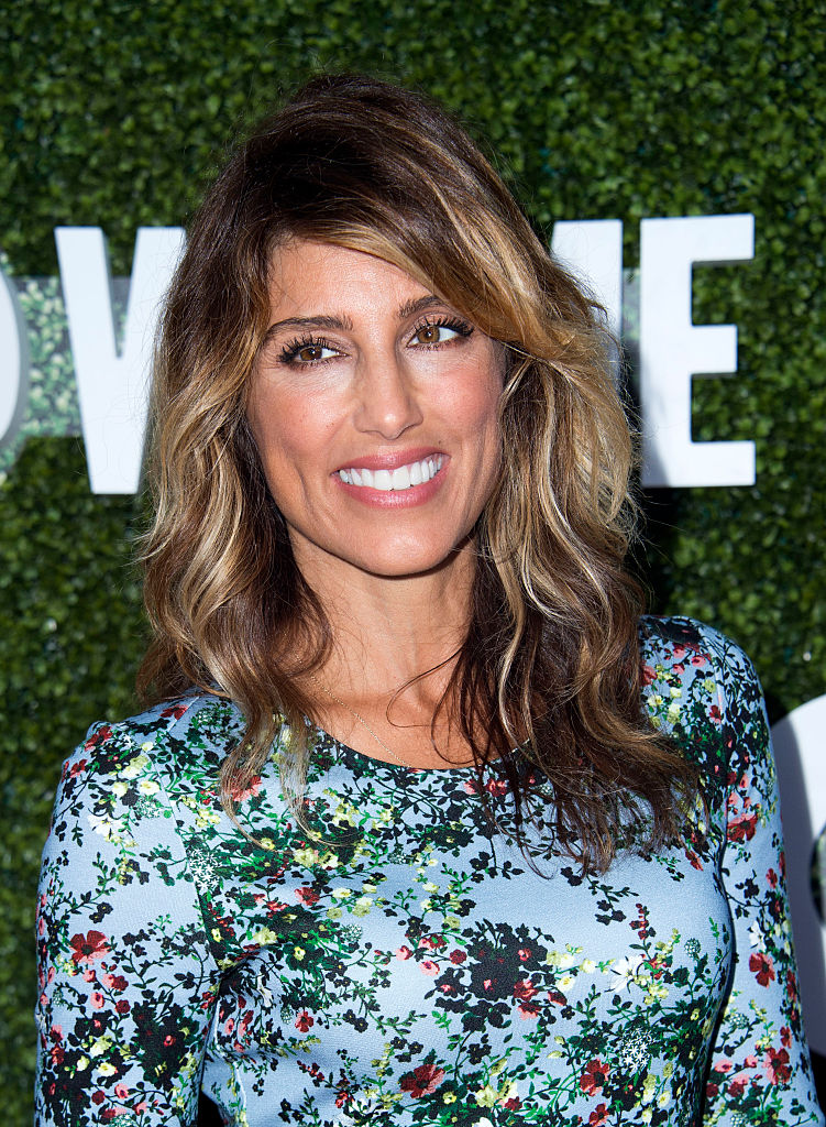 Jennifer Esposito at a 2016 CBS press tour stop in West Hollywood.