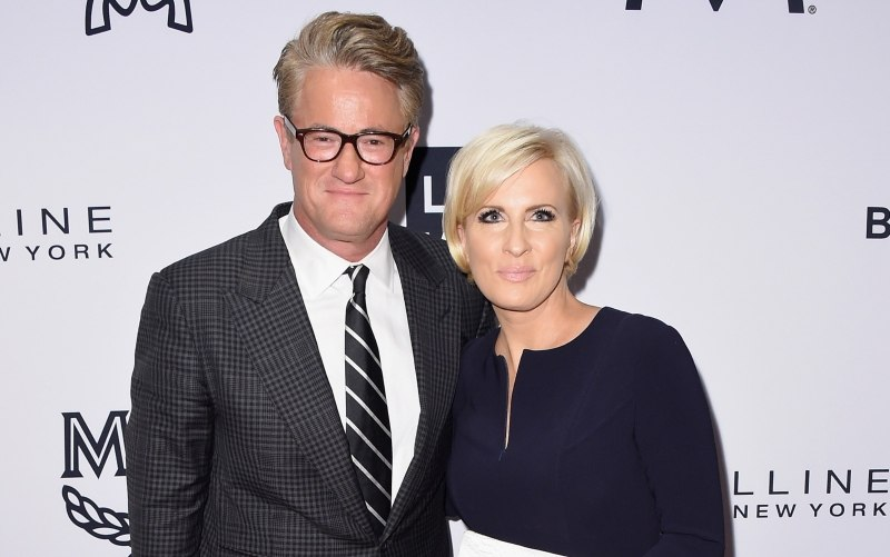 Joe Scarborough and Mika Brzezinski