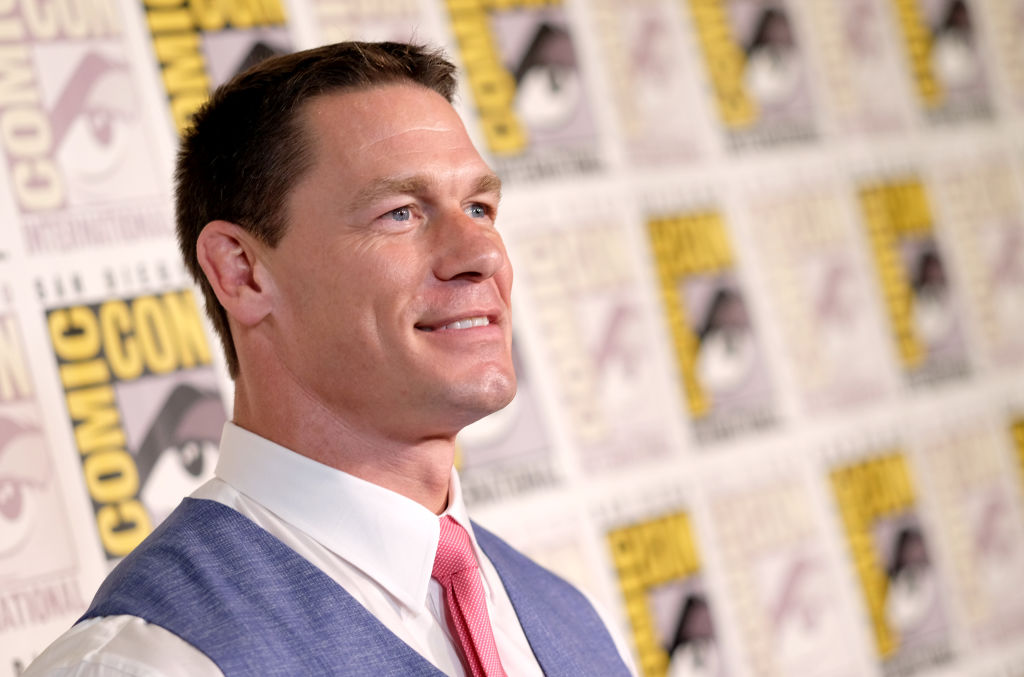 John Cena attends the red carpet for 'Bumblebee' at Comic-Con International 2018 on July 20, 2018 in San Diego, California.