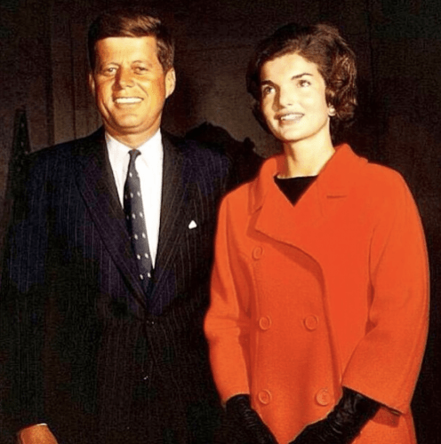 John F. Kennedy and Jackie Kenndy