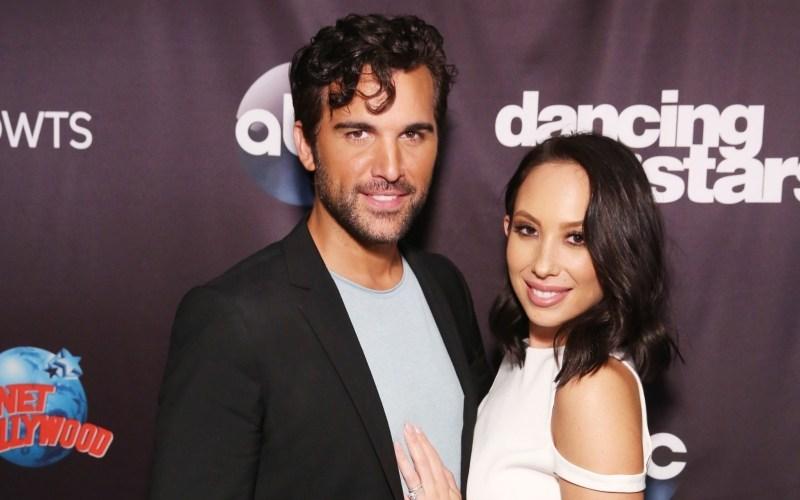 Juan Pablo Di Pace and Cheryl Burke