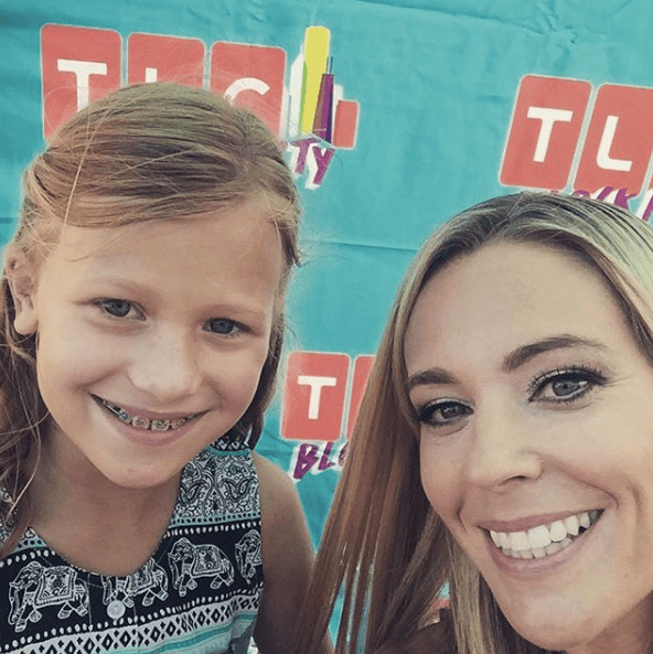Kate Gosselin with her daughter