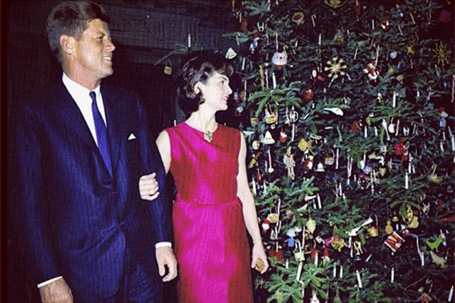 Kennedys at Christmas 1962