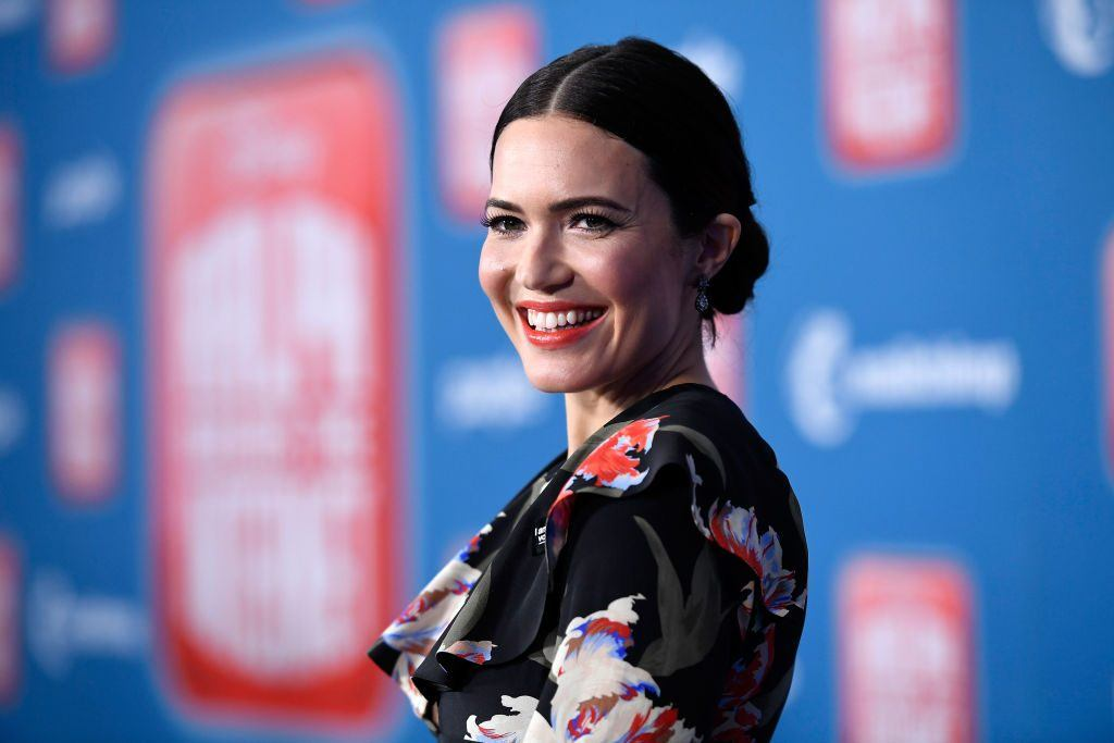 """Mandy Moore attends the premiere of Disney's """"Ralph Breaks the Internet"""" 