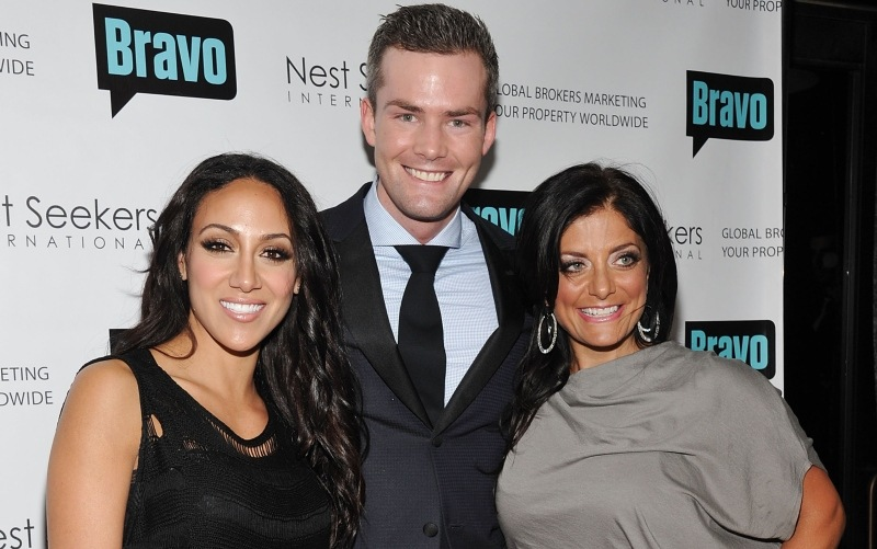 Melissa Gorga, Ryan Serhant, and Kathy Wakile