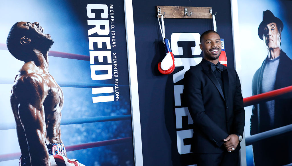 50c63216056a36 Michael B. Jordan s Diet for Creed II and His Favorite Cheat Meal