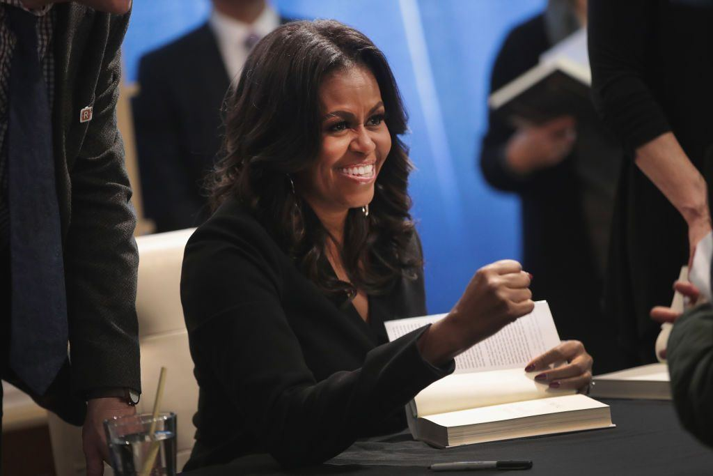 Former first lady Michelle Obama kicks off her Becoming book tour