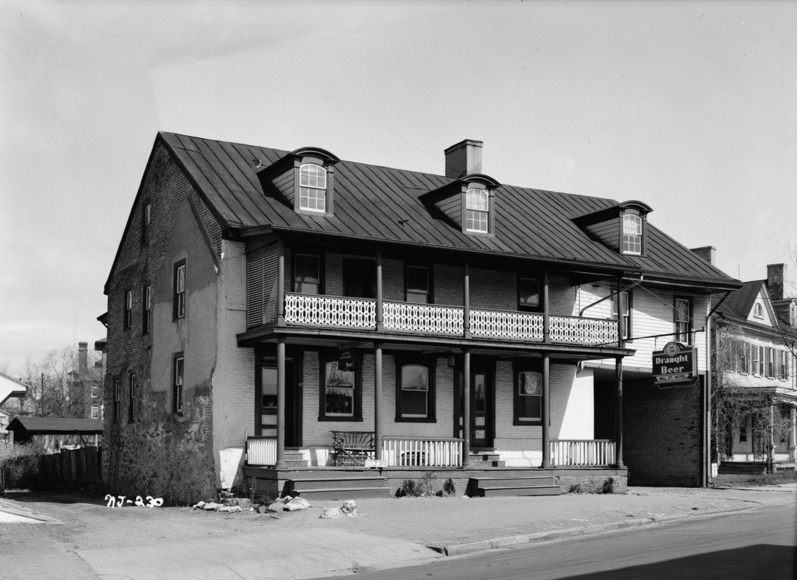 Three Tuns Tavern in New Jersey, one of the oldest bars in the United States