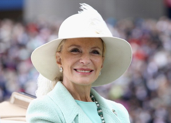 Princess Michael of Kent attends day four of Royal Ascot