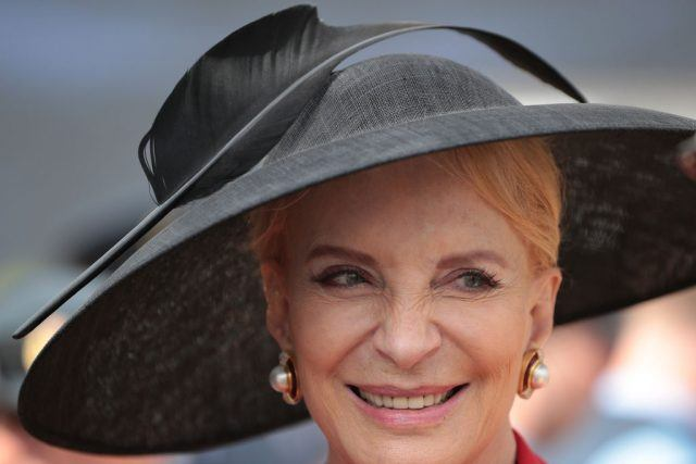 Princess Michael of Kent attends the RAF 100 ceremony on Horse Guards