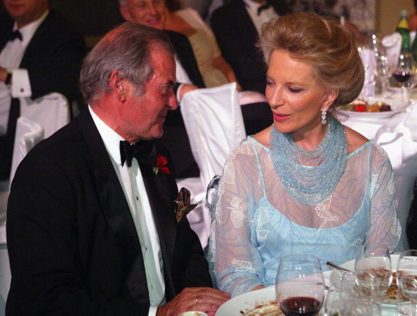 Princess Marie-Christine of Kent and Richard Drasche-Wartinberg attend the Diamond Soiree Gala