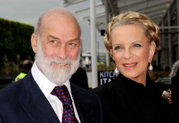 HRH Prince Michael of Kent and HRH Princess Michael of Kent attend the World Premiere of 'Prince of Persia: The Sands of Time'