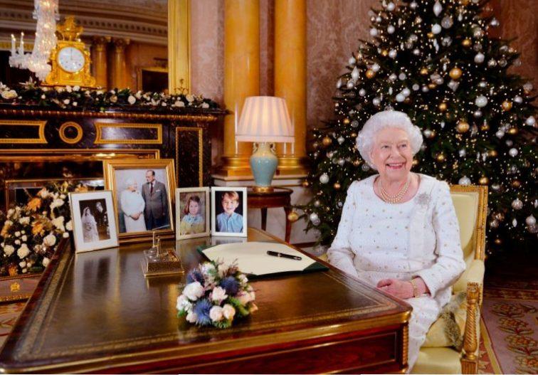 Queen Elizabeth at Christmas