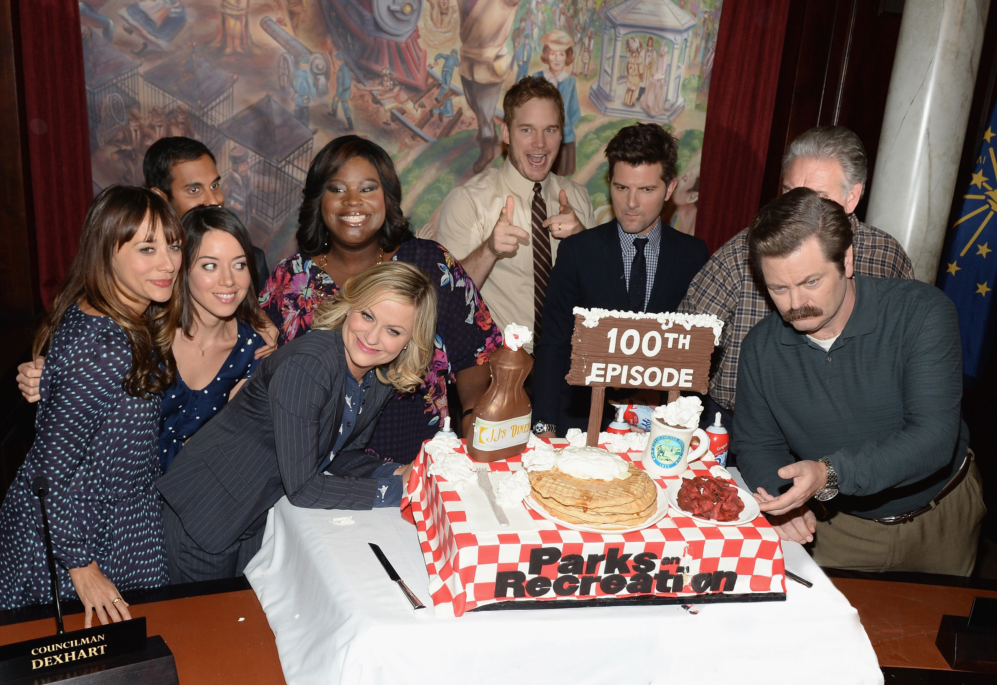 Parks and Recreation actors