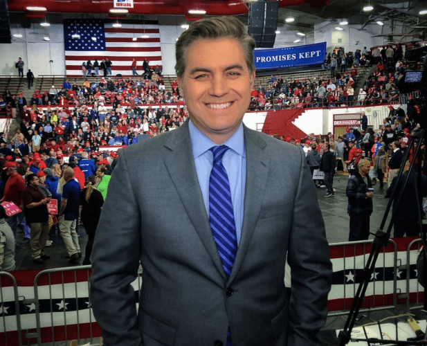 cnn journalist jim acosta - 617×500