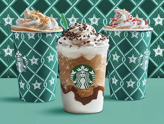 starbucks holiday drinks  here u2019s how many calories are in