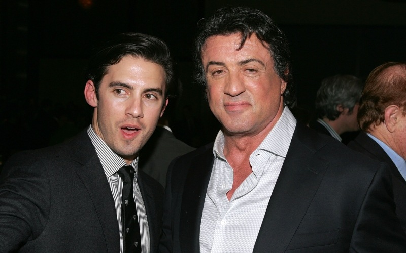 Sylvester Stallone and Milo Ventimiglia