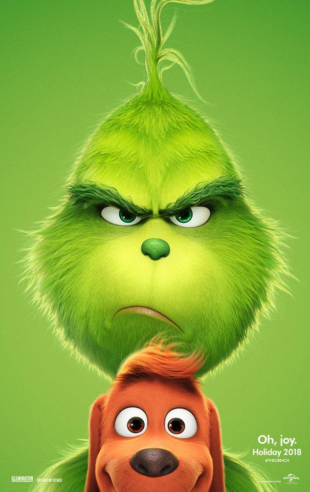 movie poster for The Grinch