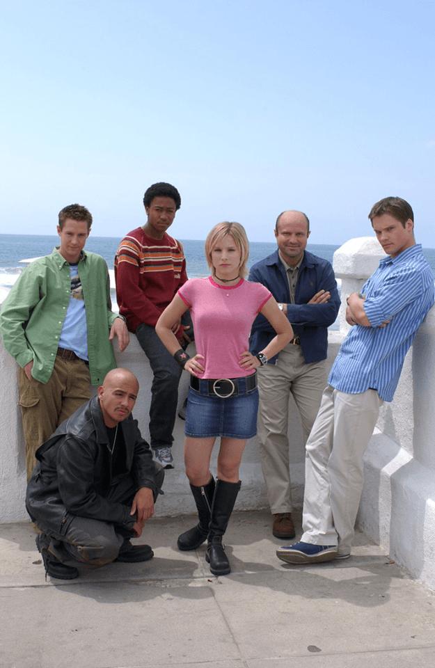 The original cast of Veronica Mars