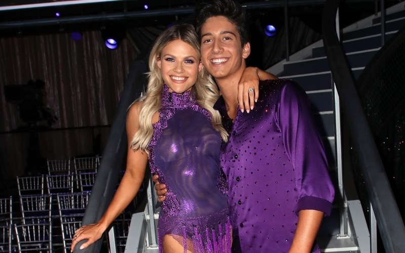 Witney Carson and Milo Manheim on 'Dancing with the Stars'