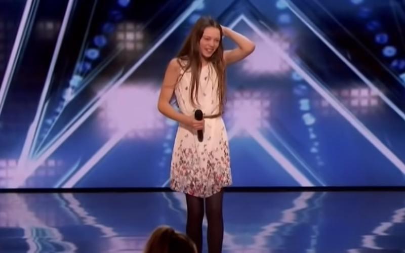 Courtney Hardwin on America's Got Talent