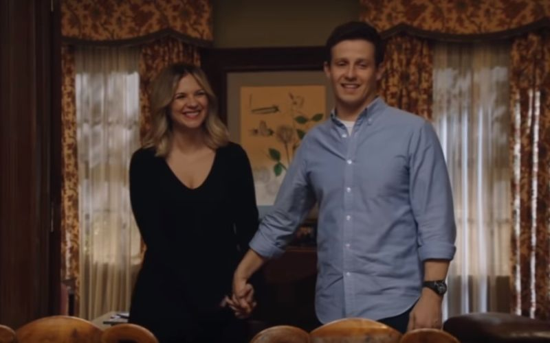 Vanessa Ray and Will Estes in Blue Bloods