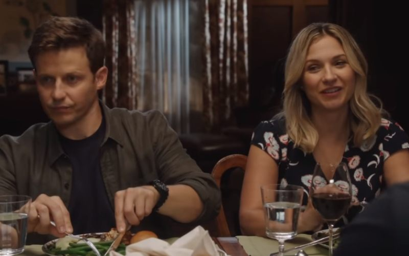 Will Estes and Vanessa Ray on Blue Bloods