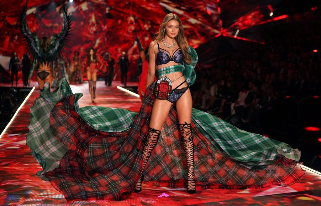 Gigi Hadid at the Victoria's Secret Fashion Show
