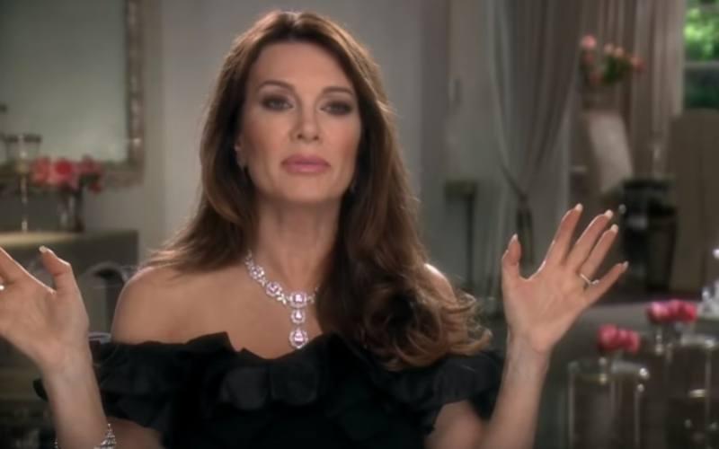 Lisa Vanderpump on Real Housewives of Beverly Hills