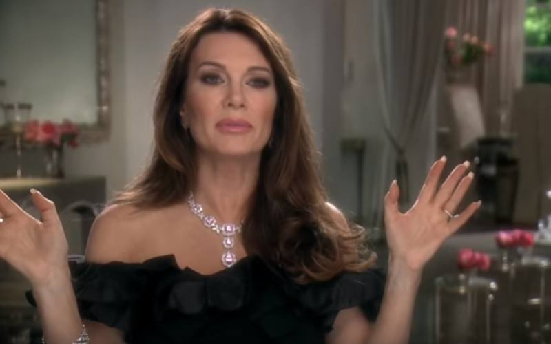 Lisa Vanderpump on Real Housewives of Beverly Hills